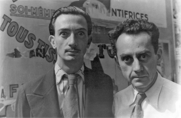Man Ray y Dalí