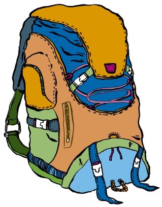 mochila viajeros