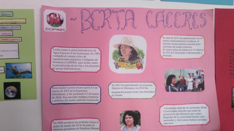Mural Berta Cáceres