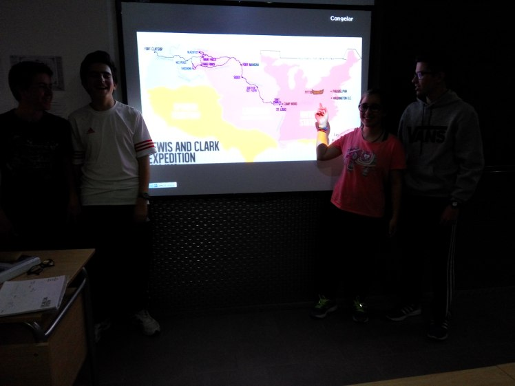 Presentación en clase